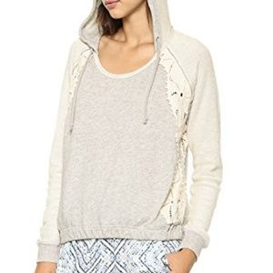 Free People Gray Hoodie Only You Size Medium